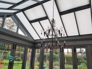CONSERVATORY MOTORISED ROOF BLINDS