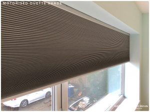 Motorised Duette Blind
