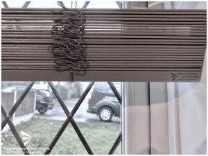 Motorised Electric Wood Venetian Blinds