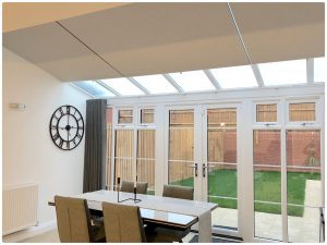 Conservatory Roof Blinds Wave Curtains